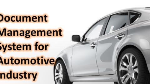 DOCUMENT MANAGEMENT SYSTEM FOR AUTOMOTIVES